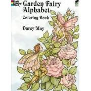 Garden Fairy Alphabet Coloring Book by Darcy May