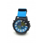 Spy Henry Lau Fashion Plastic Wrist Watches Blue SP788AC54OWZHK