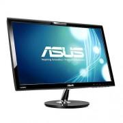Monitor ASUS VK228H, 22'', LED, 1920x1080, 80M:1, 5ms, 250cd, D-SUB, DVI, HDMI, repro, webkamera, čierny