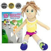 Runner Girl Ella Read & Play Doll and Book Set by Go! Go! Sports Girls
