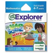 LeapFrog LeapSchool Math Learning Game (works with LeapPad Tablets LeapsterGS and Leapster Explorer)