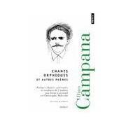 Chants orphiques et autes poèmes - Dino Campana - Livre