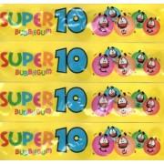 A-Z Super 10 Bubblegums Retro Strip Packets