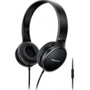 Casti Stereo Panasonic RP-HF300ME-K, Microfon (Negru)