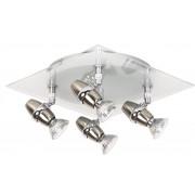 Lucide JEO Spotlamp 4x50W Chroom RVS 10922/14/12