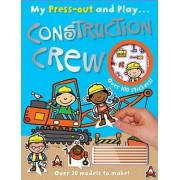 Press-Out and Play Construction Crew by John Abbott