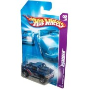Hot Wheels 2006 Hummer Series 1:64 Scale Die Cast Metal Car # 2 of 4 - Blue All Terrain Pick-Up Concept Car HUMMER H3T Concept with Fun Facts # 62 by Hot Wheels