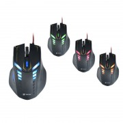 Mouse Tracer Optical Battle Heroes Target Black
