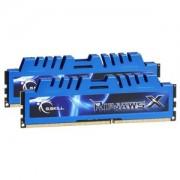 Memorie G.Skill RipjawsX 16GB (2x8GB) DDR3 PC3-19200 CL11 1.65V 2400MHz Intel Z97 Ready Dual Channel Kit, F3-2400C11D-16GXM