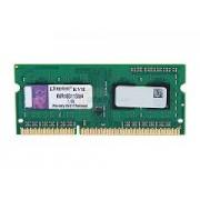 Kingston - KVR16S11S8/4 - 4096 MB - SODIMM - DDR3 - 1600 MHz - 1.5 V - CL11 - Nou