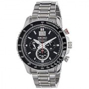 Seiko Silver Stainless Steel Round Dial Quartz Watch For Men (SPC137P1)