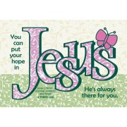 Hope in Jesus Pass It on Card, 25 Pack