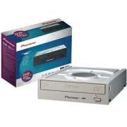 DVD-RW Pioneer DVR-S21LWK, 24x, SATA, Labelflash, Dual-Layer, Retail, White