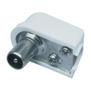 Valueline CX PLUG2 Koax dugó 90fok - szerelhető