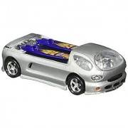 Mattel Hot Wheels 2002 Hall Of Fame Greatest Rides 1:64 Scale 35th Anniversary Silver Deora II Die Cast Car