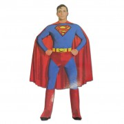 Adult Superman Fancy Dress Costume - Large