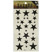 GGSELL King Horse Body painting temporary tattoos waterproof temporary tattoo black star