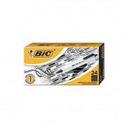 Clic Stic Retractable Ballpoint Pen, Black, 1mm, Medium, 24/pack