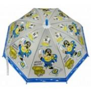 Deštník dětský holový vystřelovací modrý pirát 9149-3 9149-3