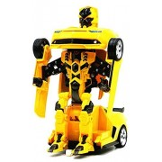 Surpass Remote Controlled [Transformers] Shape Shift Action Figure, Remote Control Action Figure Model Car Toy For Kids, Bumblebee