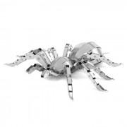 DIY 3D puzzle montado educativo de los juguetes de la arana Modelo - plata