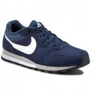 Обувки NIKE - Md Runner 2 749794 410 Midnight Navy/White/Wolf Grey