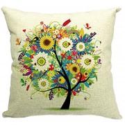 Funda de Almohada 360DSC Pastoral Style Tree of Life