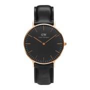 Daniel Wellington Classic Black Sheffield horloge (36 MM) DW00100139