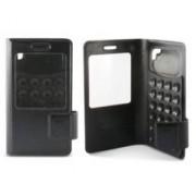 KSix Étui folio à ventouses universel pour smartphones 5'' KSix