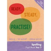 Year 3 Spelling Pupil Book by Keen Kite Books