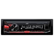 JVC KD-X130 Radio para coche (50 W, AM/FM, 24-bit, 153 279 kHz, 531 1611 kHz, USB), negro