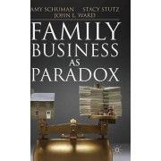 Family Business as Paradox by Amy Schuman