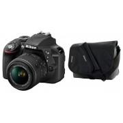 Nikon d3300 + 18-55mm vr ii + cf-eu05 - man. ita - 2 anni di garanzia