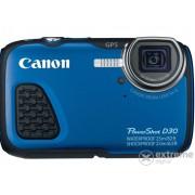 Aparat foto Canon PowerShot D30, albastru