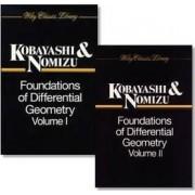 Foundations of Differential Geometry, 2 Volume Set by Shoshichi Kobayashi