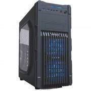 Carcasa GX200 Window Blue, MiddleTower, Fara sursa, Negru