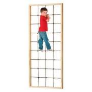 Kletternetz mit Rahmen, 100x230 cm