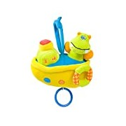 Chipolino Pull Musical Toy (Boat Hippo)
