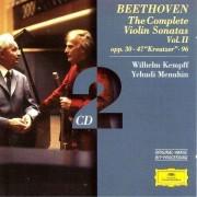 Wilhelm Kempff & Yehudi Menuhin - Beethoven: The Complete Violin Sonatas Vol.II (0028945943626) (2 CD)