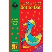 Buki Activity Book 1 to 50 & 1 to 75 DOT TO DOT (B1106)