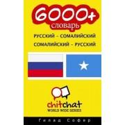 6000+ Russian - Somali Somali - Russian Vocabulary