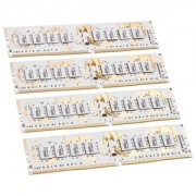 Memorie GeIL Dragon RAM Frost White IC 16GB (4x4GB) DDR4 3000MHz 1.35V CL15 Quad Channel Kit, GWW416GB3000C15QC