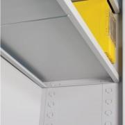 Legblad voor zelfbouw vouwdeurkast - 120 cm