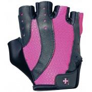 Harbinger Womens pro wash & dry 2 fitness handschoenen (black/pink) - M