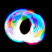GloFX Basic 6-LED Rave Orbit: Light Rainbow