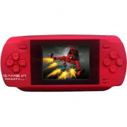 Mitashi Game In Smarty V1.0 Handheld Gaming Console With 300 In-Built Games (Red)