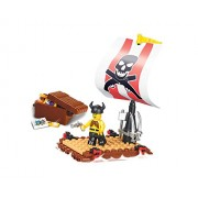 Sluban Pirate Treasure Hunt 64 Piece Set Lego Compatible