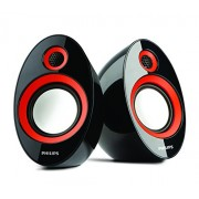 Philips SPA-602.0 speaker with USB Plug (Red)