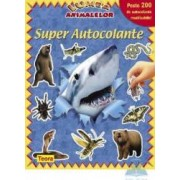 Super autocolante - Lumea animalelor albastra