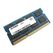 Elpida ebj21ue8bds0-ae-f 2 GB 2Rx8 1,5 V 204 pin SODIMM PC3 - 8500s-7 - 10-f1 1066 MHz DDR3 memoria Laptop/Notebook